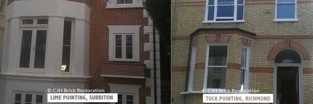 CJH-Brick-Restoration-Lime-Pointing-Surbiton-House-and-Tuck-Pointing-Richmond-House