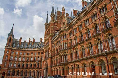 Chris Horne of CJH Brick Restoration was one of the site managers involved in the restoration of St Pancras Chambers, London.
