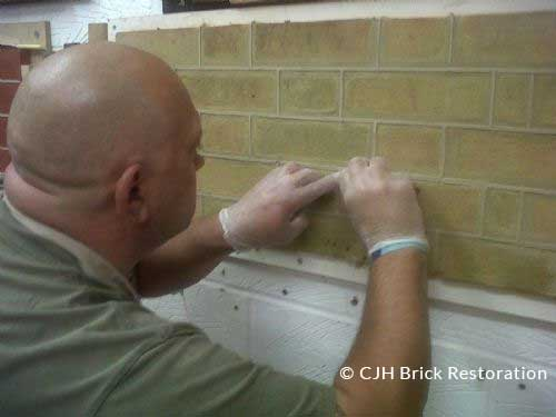 Tuck Pointing by CJH Brick Restoration